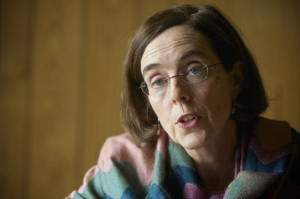 Kate Brown, Oregon's Governor.