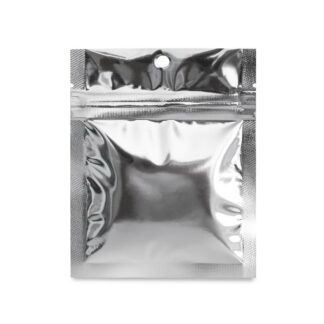 SilverDollar 3.5×4.5 – 100 Pack 3 Seal Food Pouch Mylar Bags