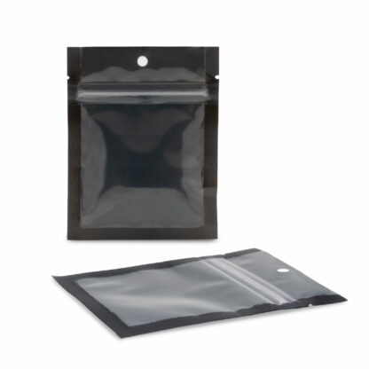 NYSM Clear/Black 3.5×4.5 – 100 Pack