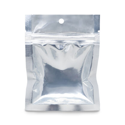 NYSM Clear/Silver 3.5×4.5 – 100 Pack 3 Seal Food Bags
