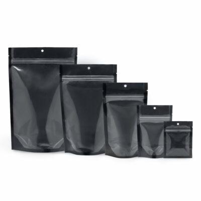 Clear / Black Mylar Bags