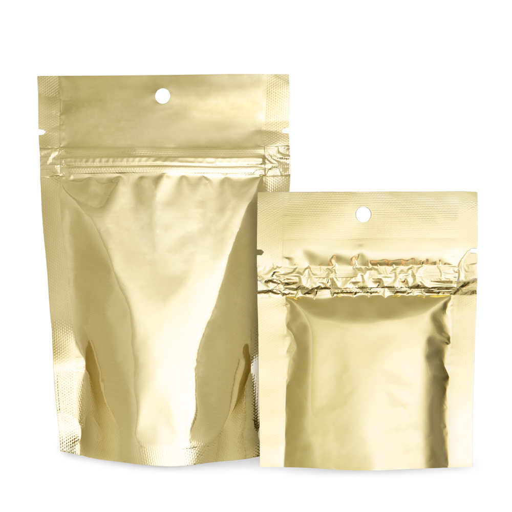 Gold Mylar Bags